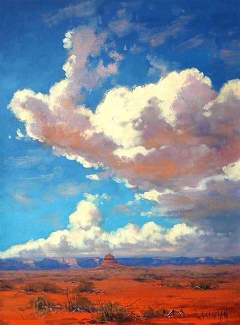 graham gercken 1960 impressionist landscape painter