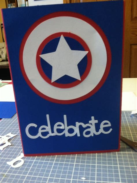 Captain America Birthday Card 17 Best Images About Birthday Party Ideas On Pinterest