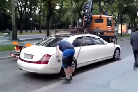 How Much To Get Car Towed To A Garage by Want To Avoid Getting Your Car Towed Buy A Maybach