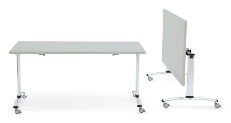 Folding Table On Wheels Folding Table With Wheels Melamine Top Idfdesign