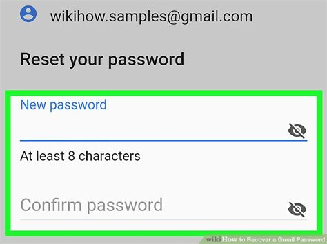 gmail password reset verification code how to recover your gmail login password wikihow