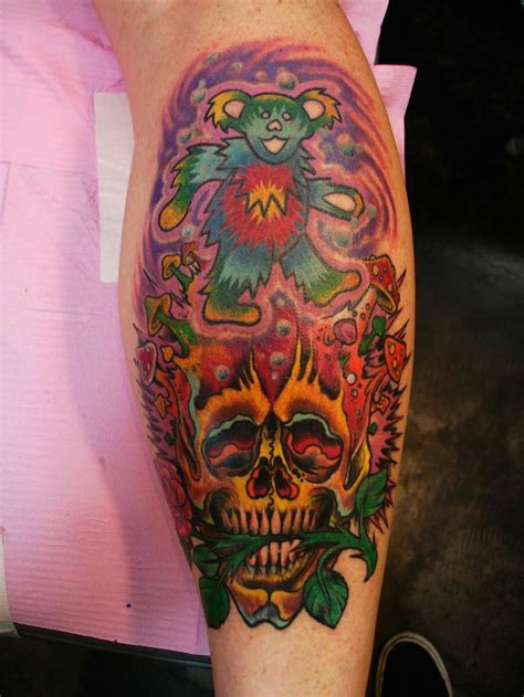 gd tattoos 42 best 3d grateful dead tattoos images on