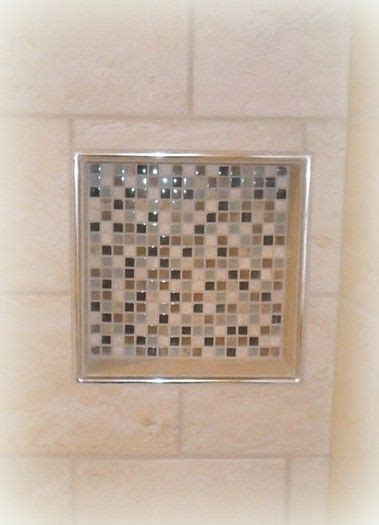 bathroom tile trim ideas tiled shower niche with schluter trim tile projects