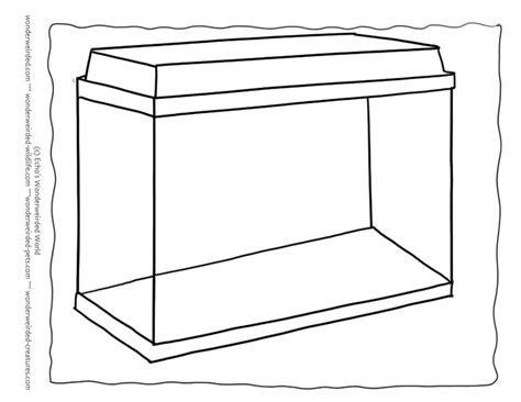 blank aquarium colouring pages pinterest aquarium