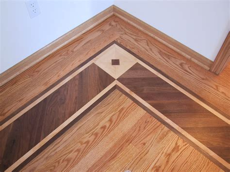 Wood Floor Borders by Custom Wood Border Hardwood Flooring Floor
