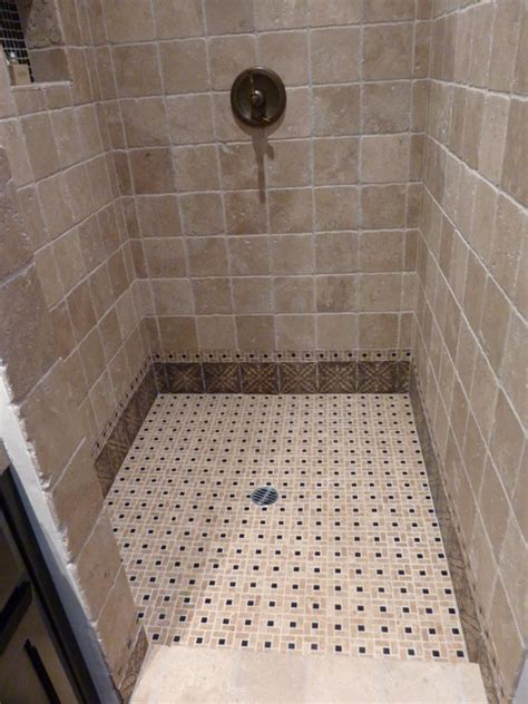bathroom shower floor tiles shower floor