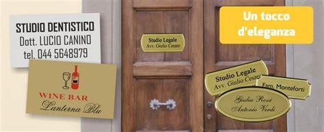 targhe ufficio personalizzate targhe e targhette personalizzate track