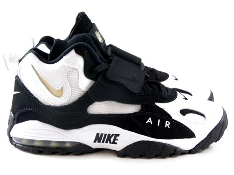 nike speed turf black white nfl retro trainers shoes