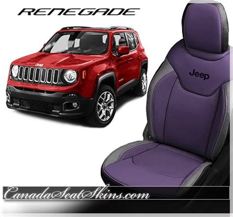 purple jeep renegade 2015 2018 jeep renegade custom leather upholstery