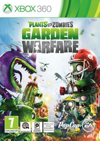 covers box art plants  zombies garden warfare xbox