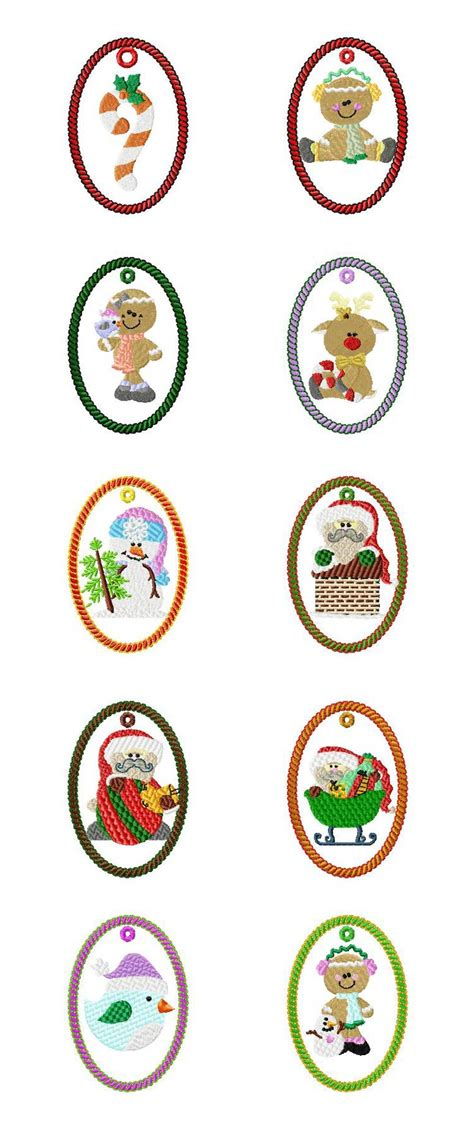ornament embroidery designs machine embroidery designs ornaments 2 set