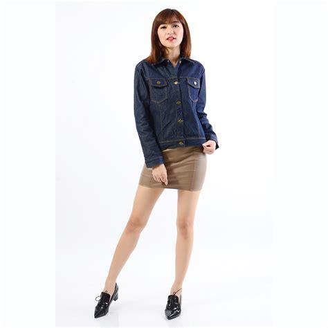 Harga Jaket Levis Lengan Pendek perempuan pendek gaya vintage jaket jean rompi pakaian