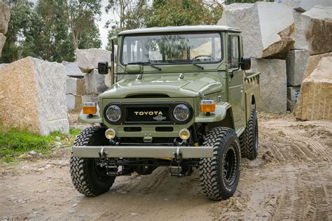 toyota land rover truck 1978 toyota land cruiser hj 45 truck uncrate