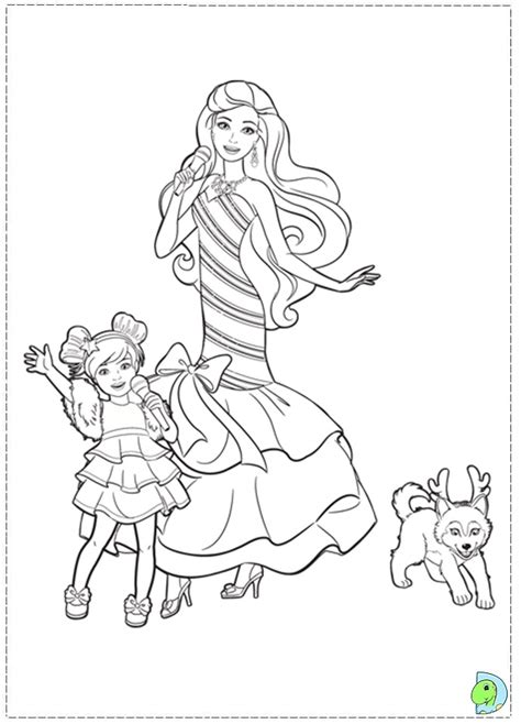 coloring pages barbie christmas search results for barbie christmas coloring pages