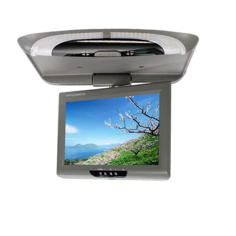 Monitor Roof 9 inch flip monitors roof mount monitor overhead monitor tft led screen car styling high