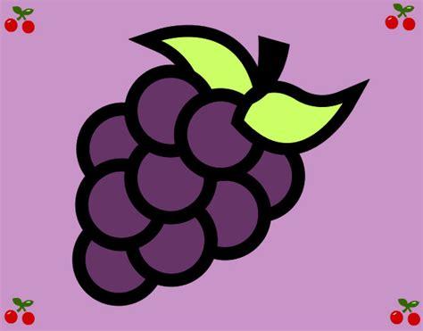 imagenes animadas uvas dibujo de uva pintado por marijos en dibujos net el d 237 a