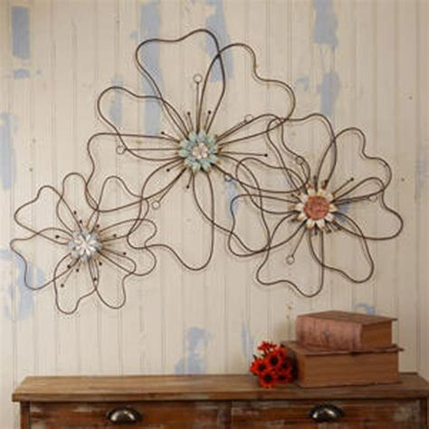 wire flowers wire flower wall plaque 110 00 crafty flower