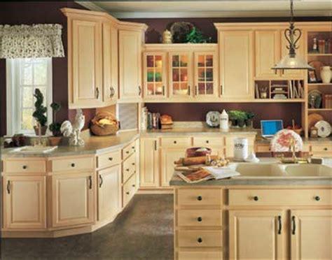 kitchen cabinetry birch wood