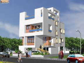 Modern house exterior design in indiamodern contem