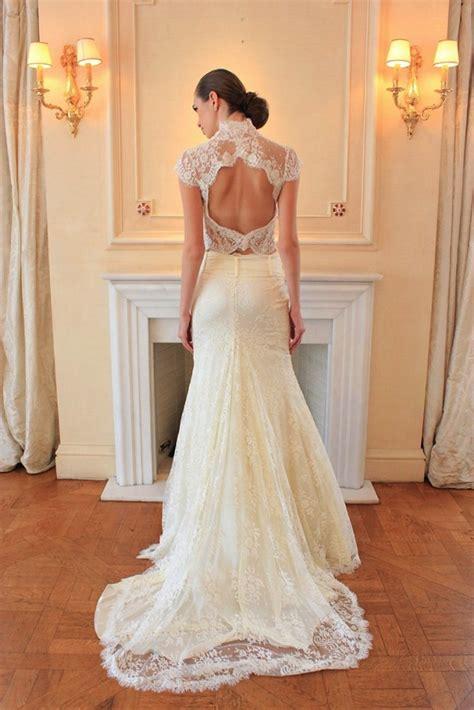Wedding Dress Lace Back by Lace Open Back Wedding Dress Ipunya