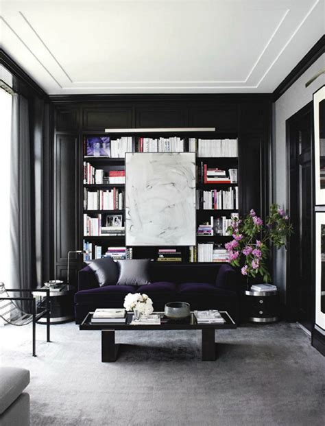 Black And Gold Living Room Ideas by Black Gold For A Stylish Living Room Covet Edition