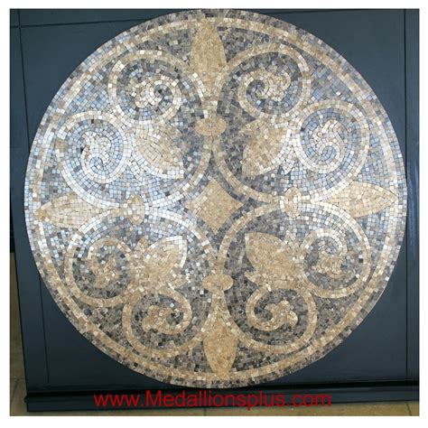 Floor Medallion by Tuscany 24 Quot Polished Mosaic Floor Medallion