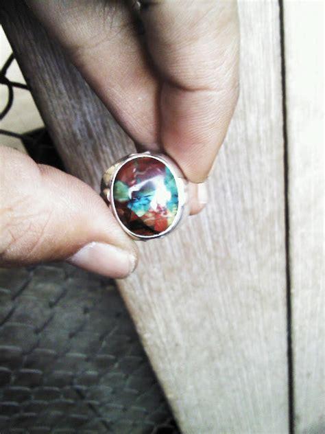 Pancawarna Garut Asli batu cincin antik dan asli alam batu garut pancawarna