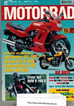 Motorrad Heft motorrad heft 22 15 motorrad buch gebraucht