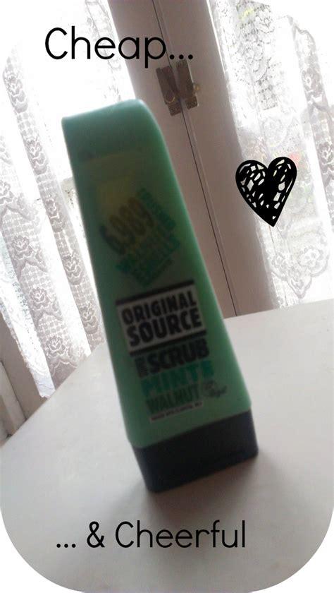 Scrub Original Source original source mint and walnut scrub some sparkle