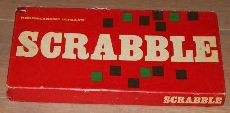 ni scrabble oud spel scrabble houten letters jaren 60 brocante speelgoed