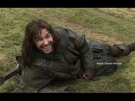 aidan turner kili clips from the hobbit dos extended