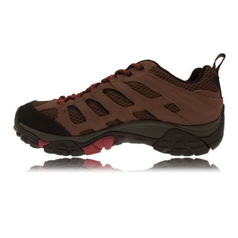 merrell sports shoes merrell moab mens tex waterproof outdoors walking