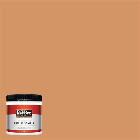 behr premium plus 8 oz 700c 3 pecan sandie interior exterior paint sle 700c 3pp the home