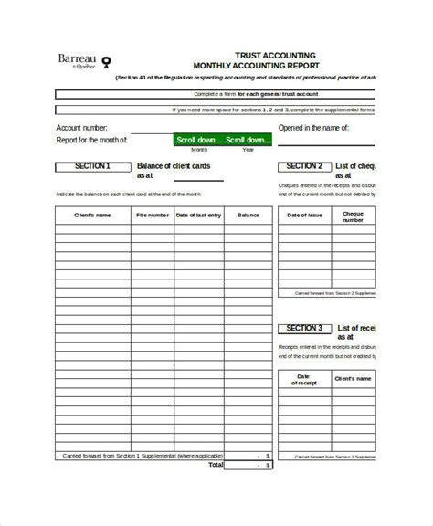 Trust Accounting Excel Template 25 Free Spreadsheet Templates To Manage Your Daily Finances Trust Accounting Excel Template