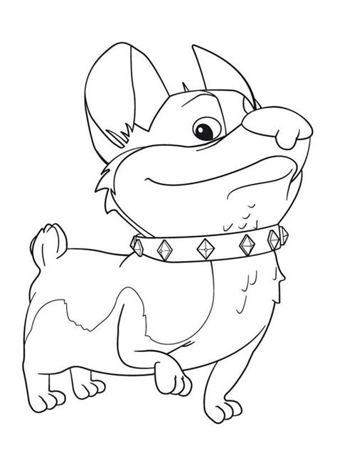 corgi coloring pages download and print for free