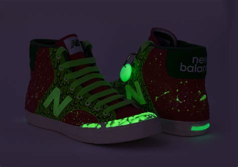 glow in the paint kzn new balance gitd sneakers on behance