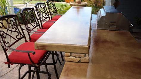 Concrete Countertops Sacramento by Concrete Countertop Outdoor Kitchens In Sacramento Ca