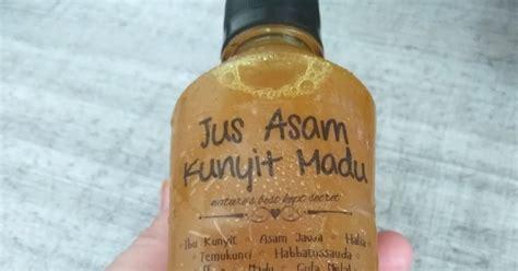 jamu kunyit asam homemade badan lebih segar dengan jamu asam kunyit madu