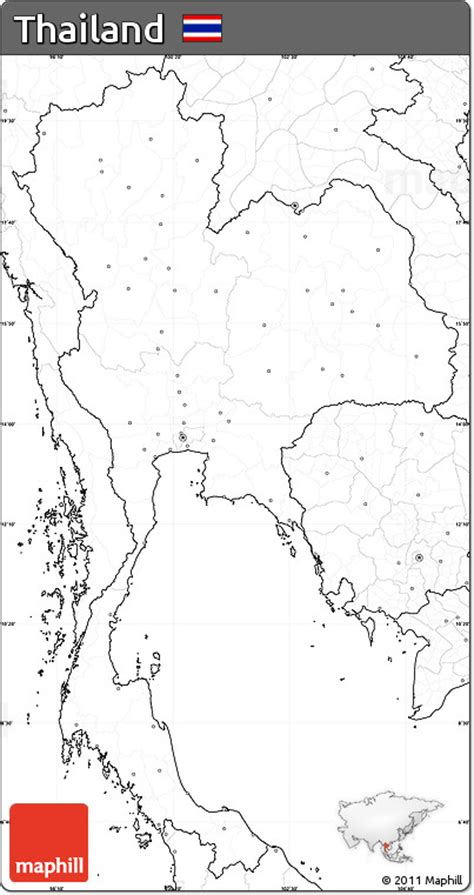 printable map thailand thailand maps free coloring pages