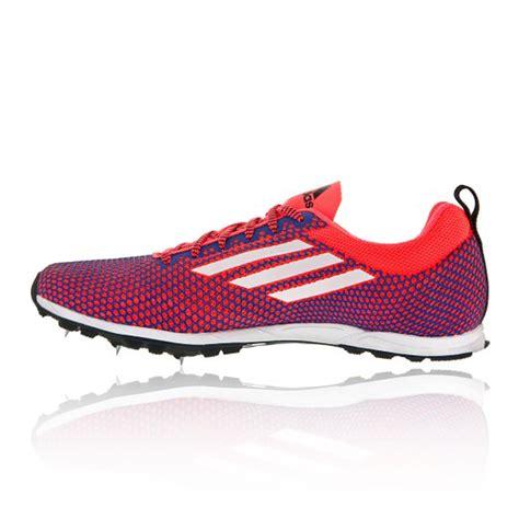 adidas xcs 5 cross country womens blue orange running spikes sport shoes sneaker ebay