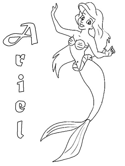 online coloring pages ariel ariel coloring pages free coloring home