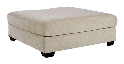 Accent Ottoman Enola Sepia Oversized Accent Ottoman From Coleman