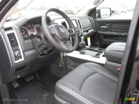 2011 Dodge Ram Interior by Slate Gray Interior 2011 Dodge Ram 1500 Laramie Crew