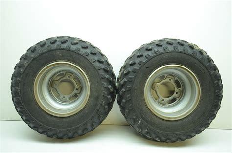 Kawasaki Bayou 250 Tires by Kawasaki Front Wheels Tires Rims At21x8 9 03 06 Bayou
