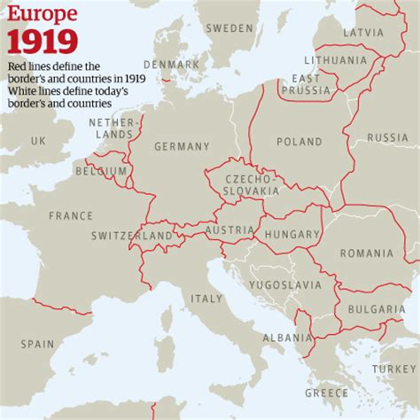 europe map 1919 access to history april 2014