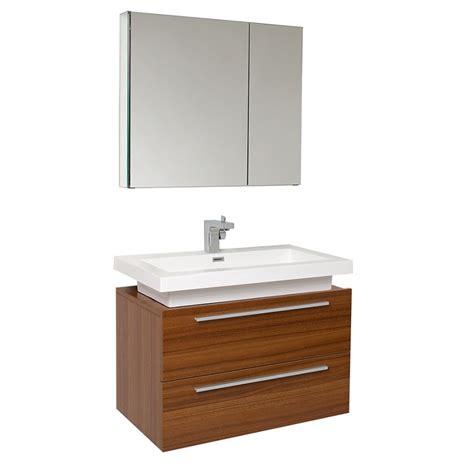 25 Inch Bathroom Vanity 31 25 Inch Teak Modern Bathroom Vanity With Medicine Cabinet Uvfvn8080tk31