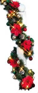 weihnachtsgirlande mit beleuchtung für innen 6m innen au 223 en girlande weihnachtsgirlande