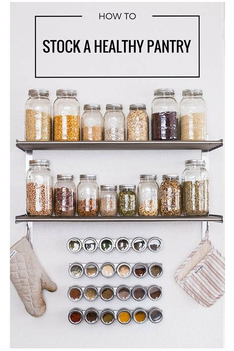 Kitchen Pantry Essentials by A Kitchen Pantry List Pantry