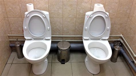 sochi bathrooms olympic loo loo another twin toilet found in sochi