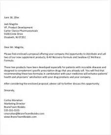 Product Supply Offer Letter 21 Business Letter Exles